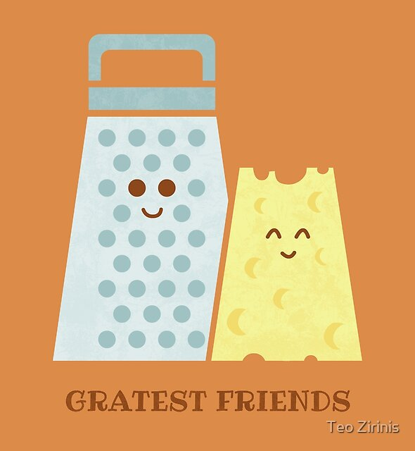 Cheesy Friendship by Teo Zirinis