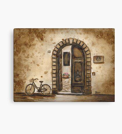 Italian Coffee Break Canvas Print
