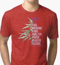 Hemp is Tri-blend T-Shirt