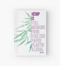 Hemp is Hardcover Journal
