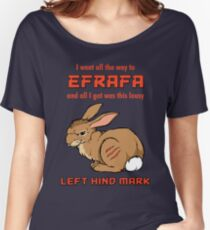 I Went All the Way to Efrafa Women's Relaxed Fit T-Shirt