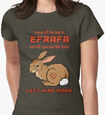 I Went All the Way to Efrafa Women's Fitted T-Shirt