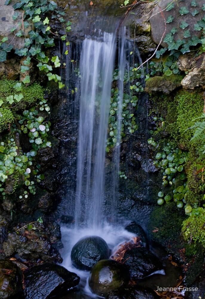 Hakone Waterfall by Jeanne Frasse