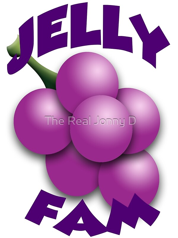 Jelly Fam Trauben Kunstdruck Von 23jd45 Redbubble