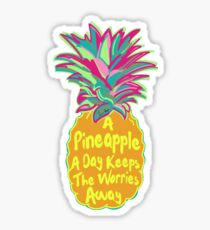 A Pineapple A Day!  Sticker