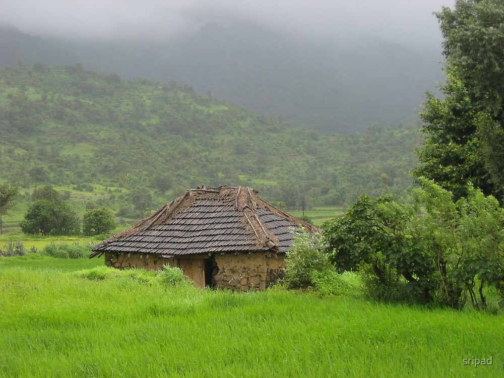 Small hut by sripad