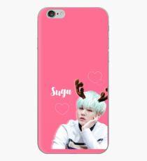 Suga BTS Hot pink iPhone Case