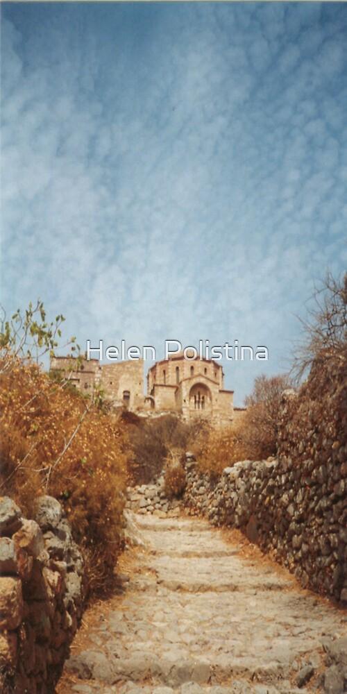 Monemvasia Greece by Helen Christie