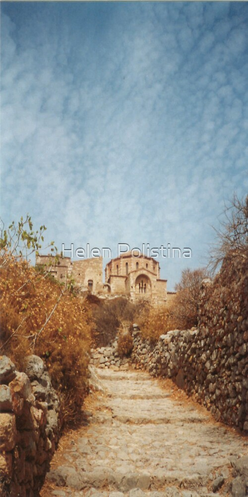 Monemvasia Greece by Helen Polistina