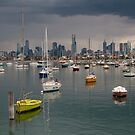 Colour of Melbourne 2 by Werner Padarin