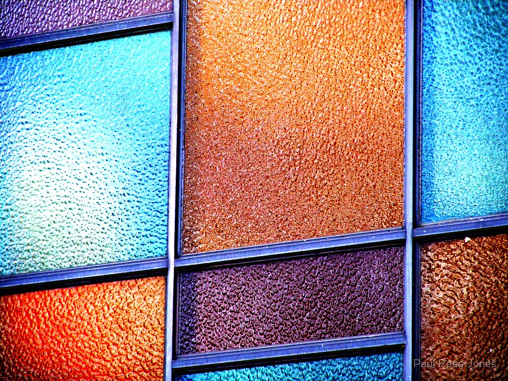 Coloured Glass. by Paul Rees-Jones