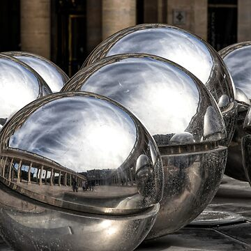 Reflecting Balls by MarylouBadeaux