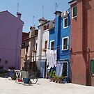 Out to dry - Barano -  street or backyard? by chijude