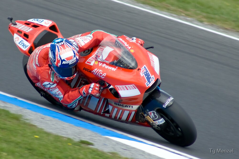 Casey Stoner - Phillip Island 2008 by Ty Menzel