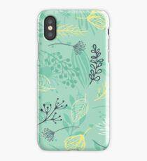 Green Flora  iPhone Case/Skin