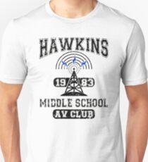 Hawkins Middle School AV Club - Stranger Things Unisex T-Shirt