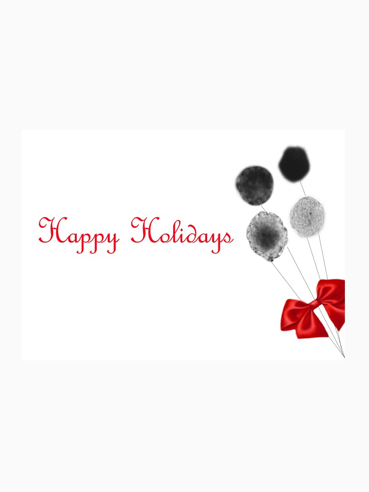 Happy Holidays Stem Cells Design  by thepurplelilac
