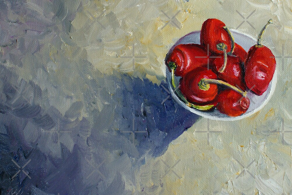 Siete Chillis by Sarah  Mac