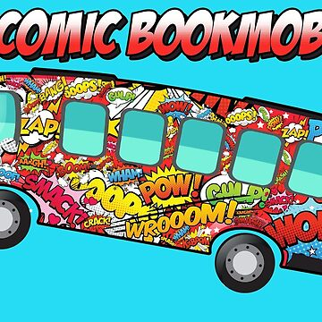 The Comic Bookmobile  by Frankenstylin