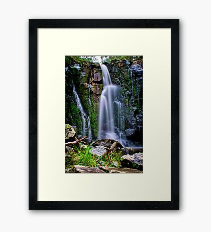 """Phantom Falls"" Framed Print"