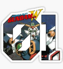 Wing Gundam  from Gundam WIng Sticker