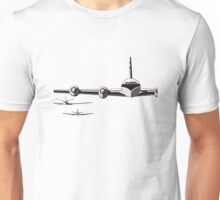Vintage/Retro Plane/Aviation Art Unisex T-Shirt