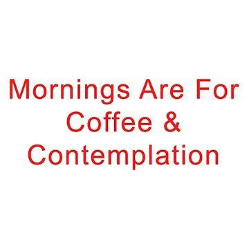 Morning Coffee by dealzillas