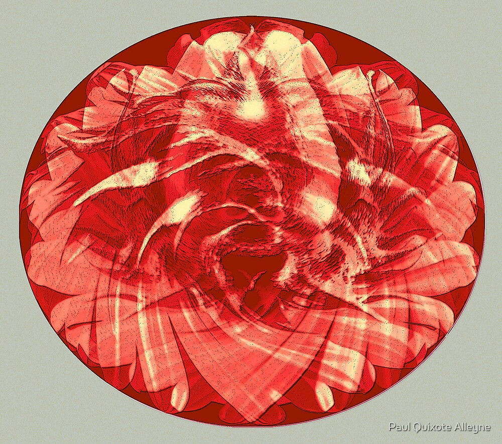 THE ROSE MANDALA by Paul Quixote Alleyne