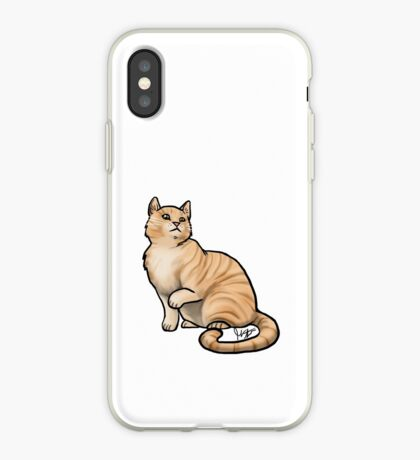 Big Tabby Cat iPhone Case