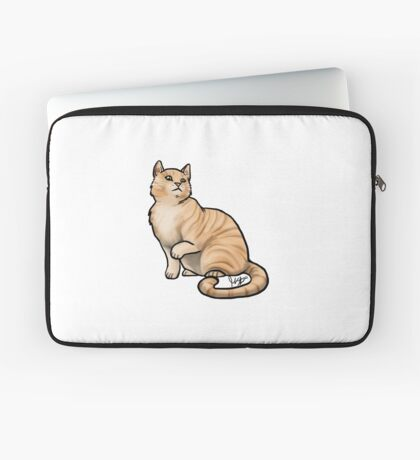 Big Tabby Cat Laptop Sleeve