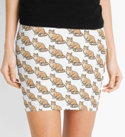 Big Tabby Cat Mini Skirt