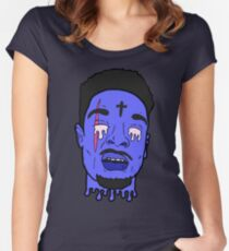Issa Knife 21 Savage Women's Fitted Scoop T-Shirt