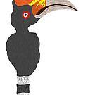 Hornbill Doodle by Snockard