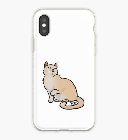 Big Yellow Cat iPhone Case