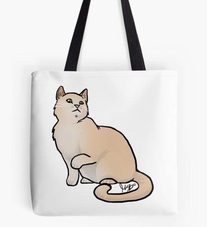 Big Yellow Cat Tote Bag