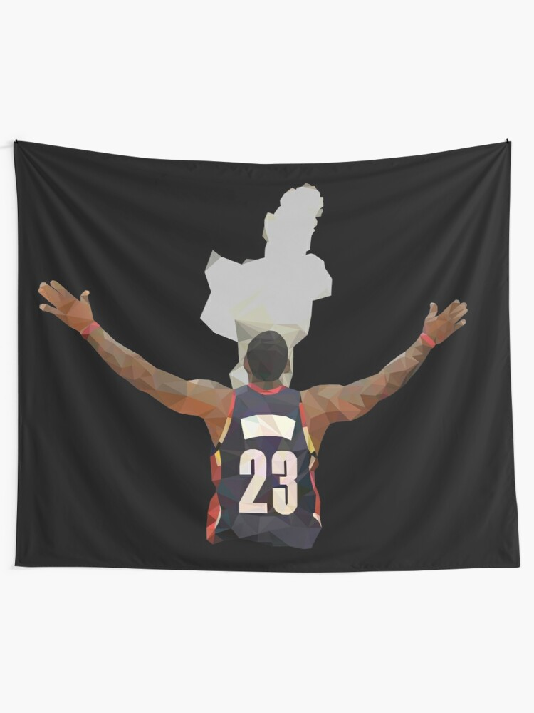 ff104003 LeBron James Chalk Toss Low Poly