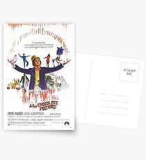 Willy Wonka Postcards