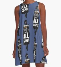 Is the Future Going to Be ALL Girl? A-Line Dress