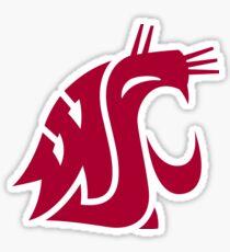 Washington State Cougars Sticker