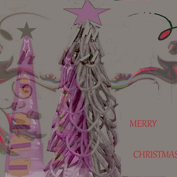 abstract christmas tree by olph66