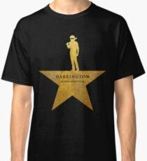 HARRINGTON: Ein amerikanischer Babysitter (goldene Textur) Classic T-Shirt