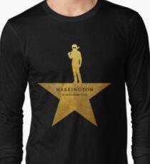 HARRINGTON: An American Babysitter (gold texture) Long Sleeve T-Shirt