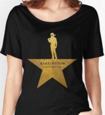 HARRINGTON: An American Babysitter (gold texture) Women's Relaxed Fit T-Shirt