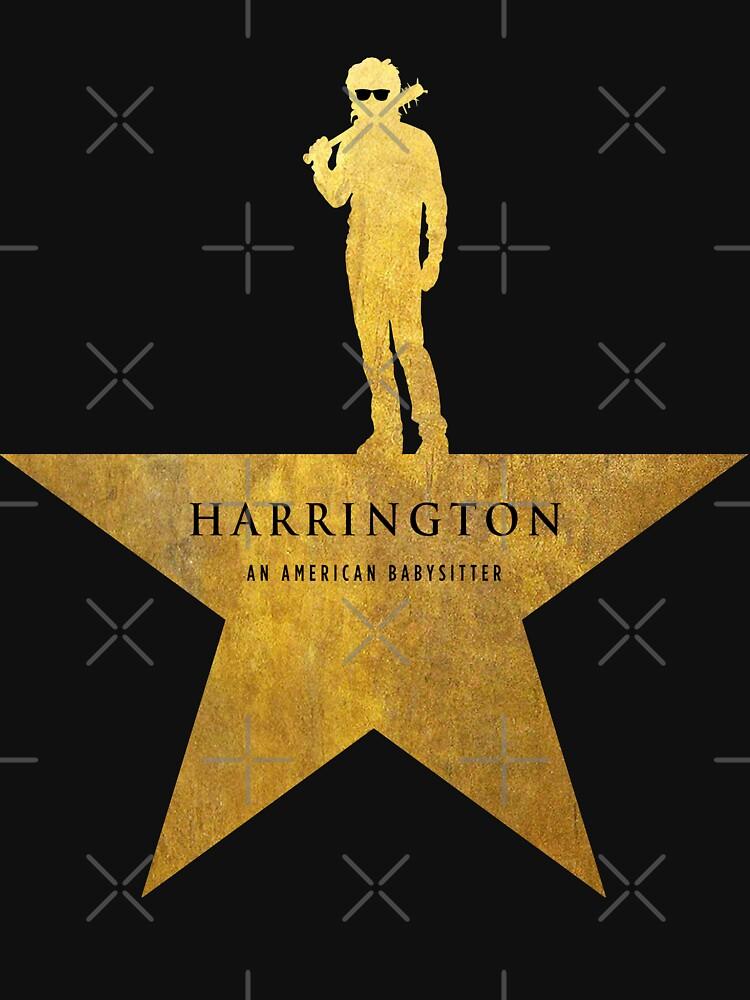 HARRINGTON: An American Babysitter (gold texture) by cabinboy100