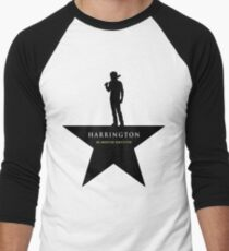 HARRINGTON: An American Babysitter (black) Men's Baseball ¾ T-Shirt