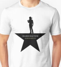 HARRINGTON: An American Babysitter (black) Unisex T-Shirt