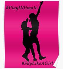 Play Ultimate Sky like a girl Poster