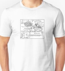 Retro Portable Tape Recorder (from the Vintage Magazine series) T-Shirt