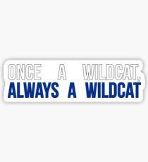 UK Once A Wildcat Sticker