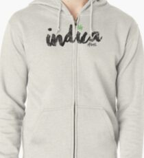 Indica Zipped Hoodie
